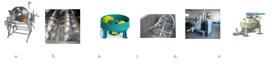 Смесители для сыпучих материалов