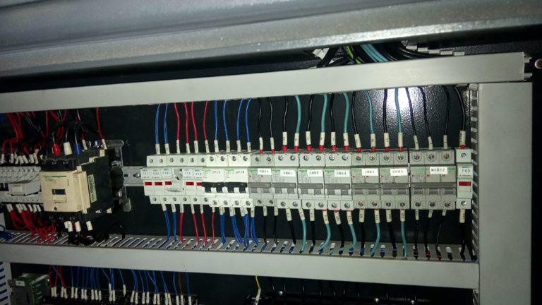 Электрика внутри ТПА